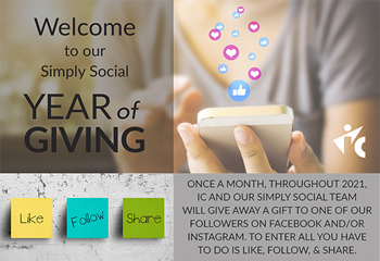 Year of Giving Simply Social IC event