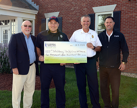 IC Donation to Fitchburg firefighters