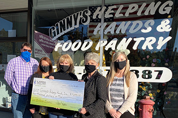 IC Donation to Ginny's Food Pantry MA