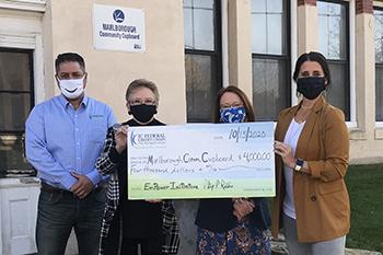 IC Donation to Marlborough Community Cupboard